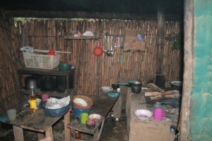 Typical living conditions for many who pick coffee in Central America